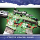 Free Ghosts Christmas Camo, Player Patch, Background, Card and Reticle From Infinity Ward
