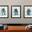 Titanfall Lithographs Included with Limited Edition: Prima Official Game Guide
