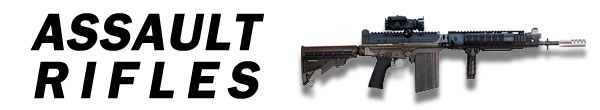 COD Ghosts Assault Rifles