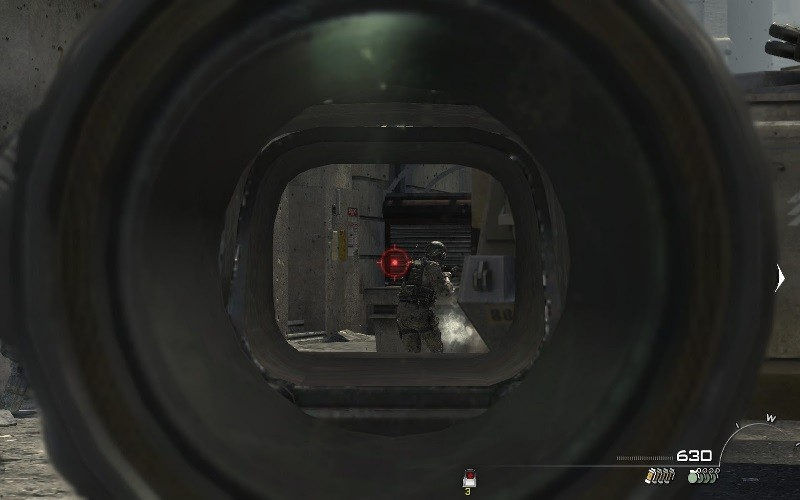cod ghosts scopes