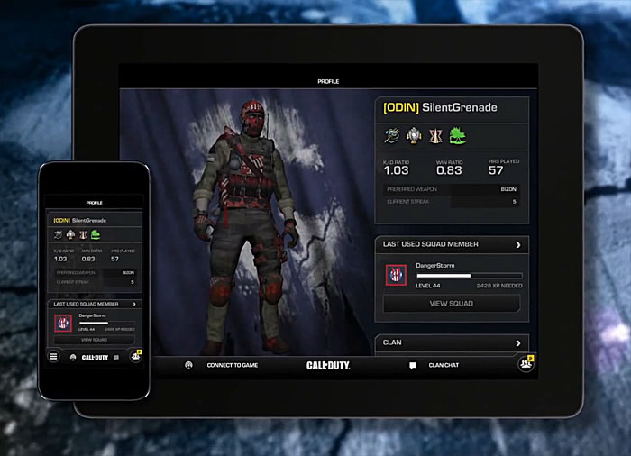 how to use cod ghosts mobile tablet