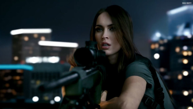 Call of Duty Ghosts Megan Fox Trailer