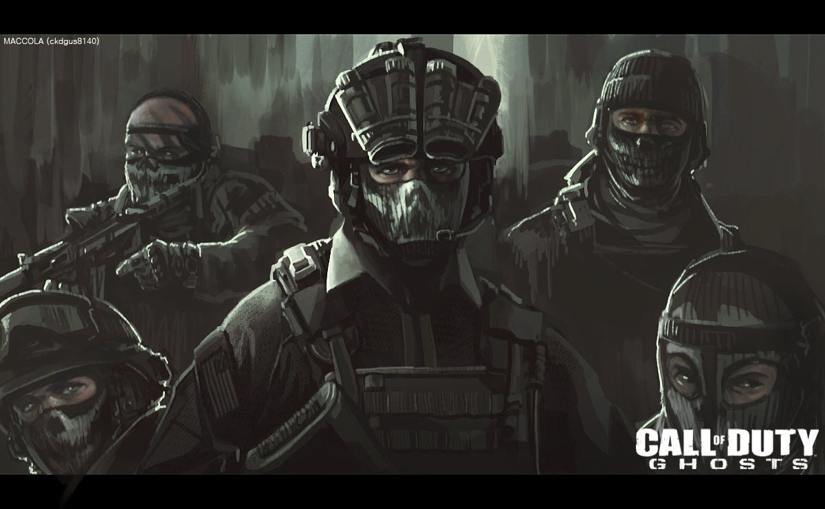 Call of Duty Ghosts Epic Digital Fan Art & Wallpapers | Call of ...