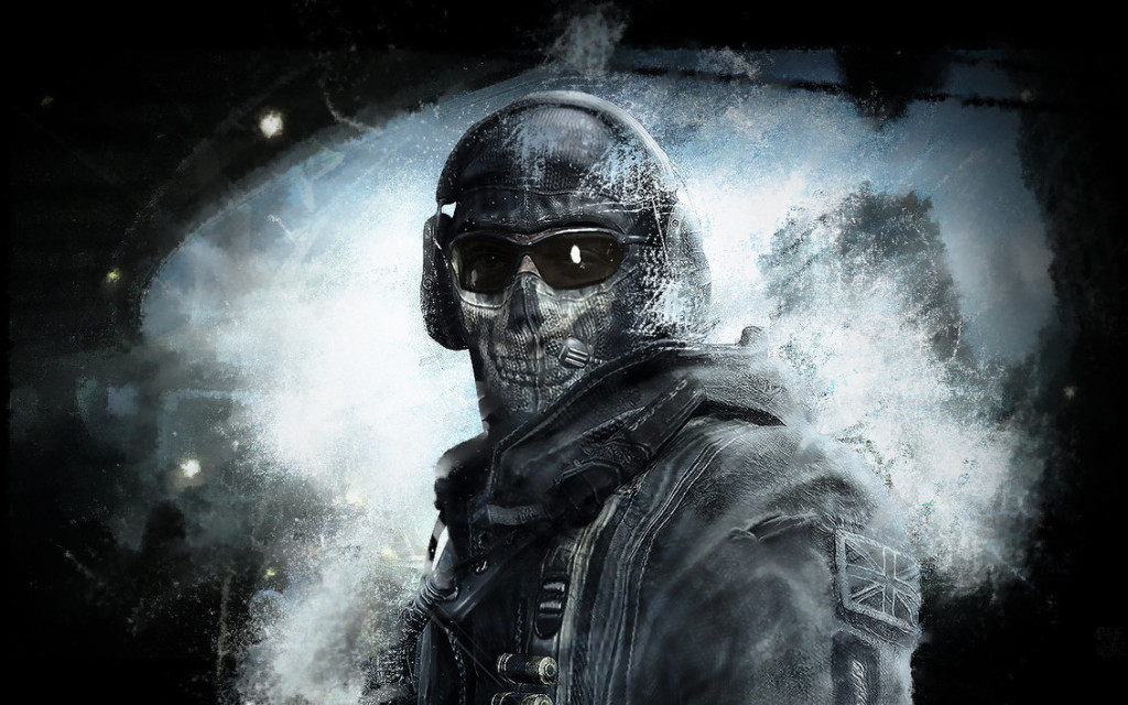COD Ghosts Game Art