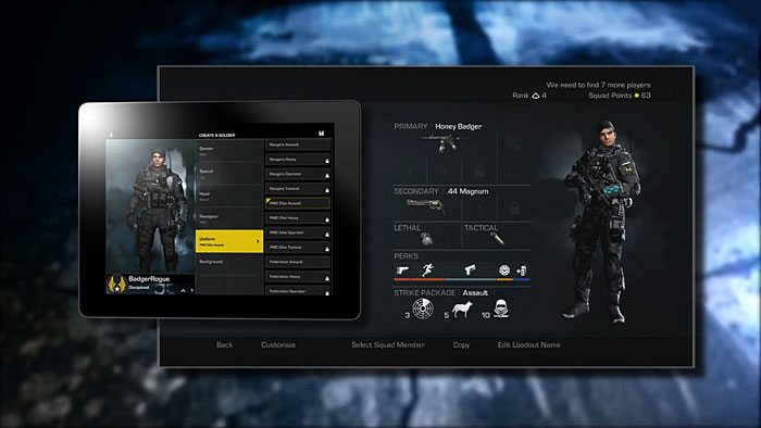 cod ghosts how to create a soldier