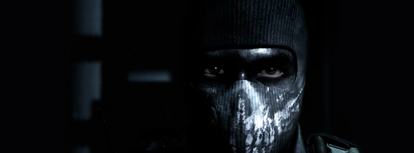 Insane Facebook Cover Call of Duty Ghosts
