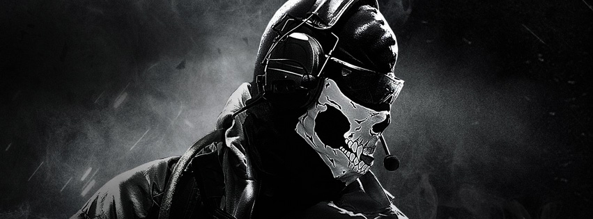 Facebook Cover for Call of Duty Ghosts