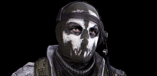 Ghost Mask in COD Ghosts