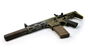 ghosts honey badger assault rifle