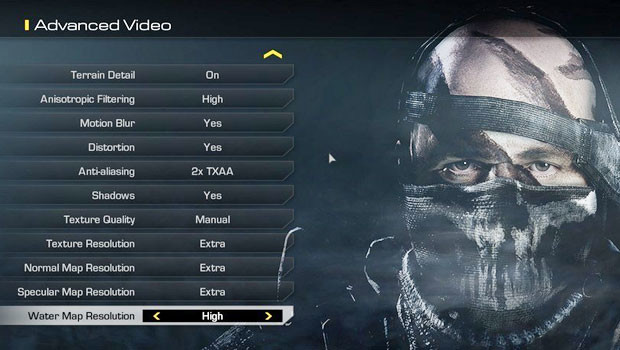 System Requirements for COD Ghosts