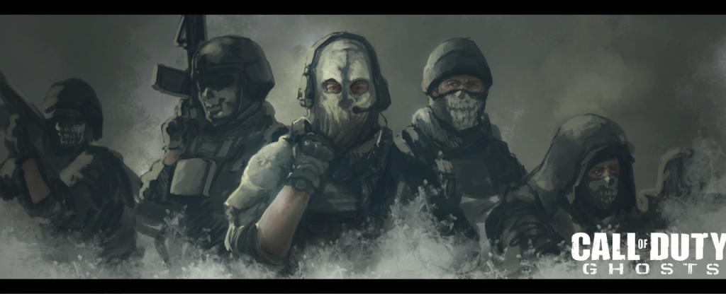COD Ghosts Painting