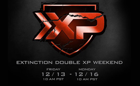 Extinction Double XP Weekend