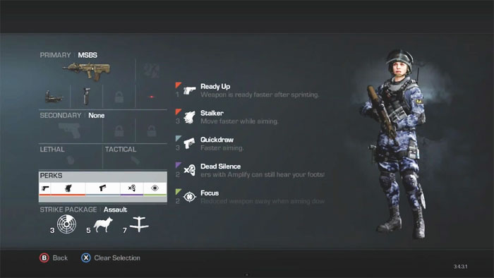 MSBS Assault Rifle Custom Class Setup