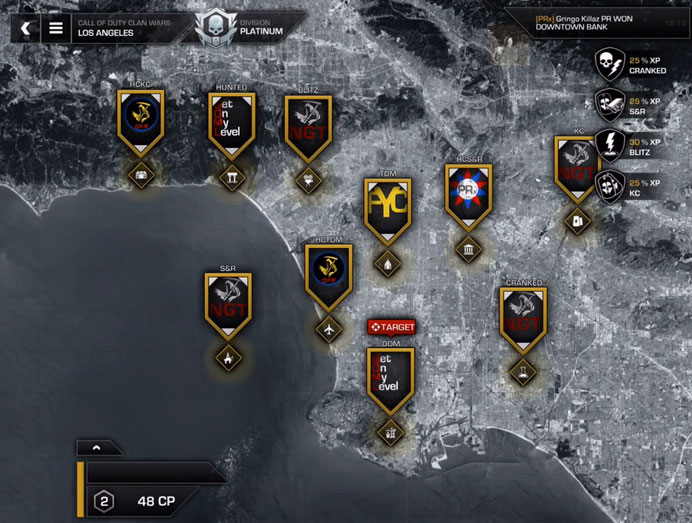 ghosts clan wars page