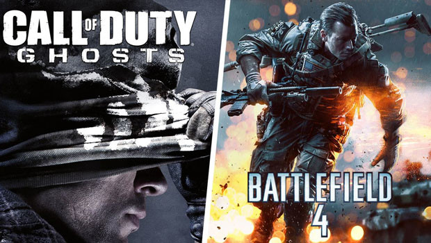 Ghosts Outperforms Battlefield 4 For Playstation