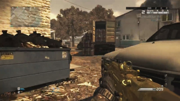 Gold Gums and Camo in Call of Duty Ghosts