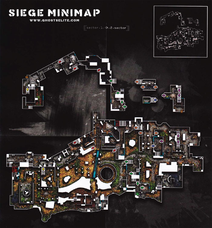 cod ghosts siege minimap