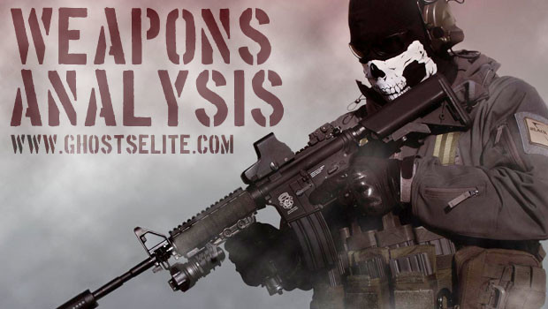 ghosts weapon analysis best rifle