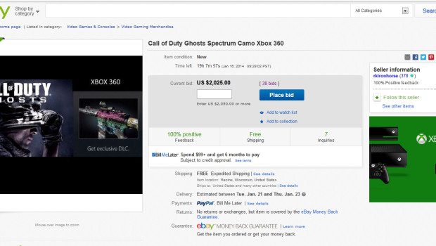 ghosts spectrum camo ebay $2000