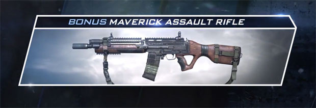 maverick assault rifle ghosts