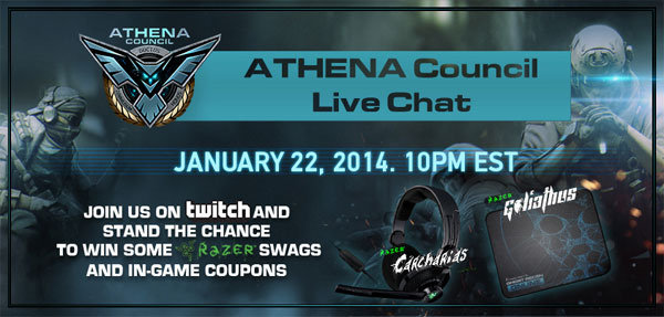 athena council date time on twitch