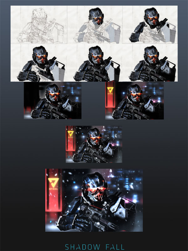 killzone shadow fall fan art