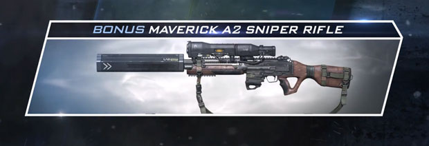 maverick a2 sniper rifle ghosts