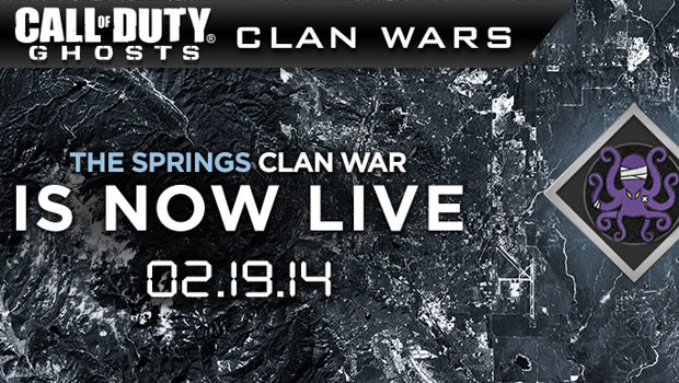 the springs clan wars for ghosts