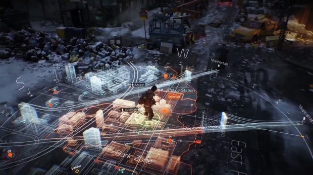 the division interactive map