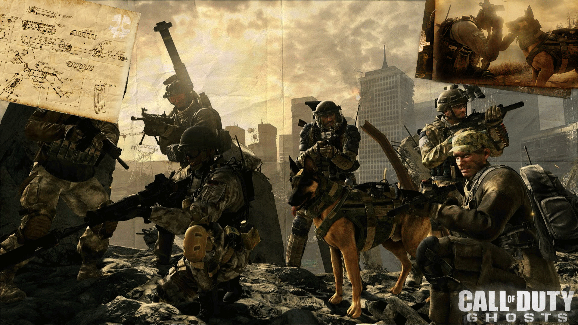 Call Of Duty Ghosts Elite Cod Ghosts Gaming News HD Wallpapers Download Free Images Wallpaper [1000image.com]