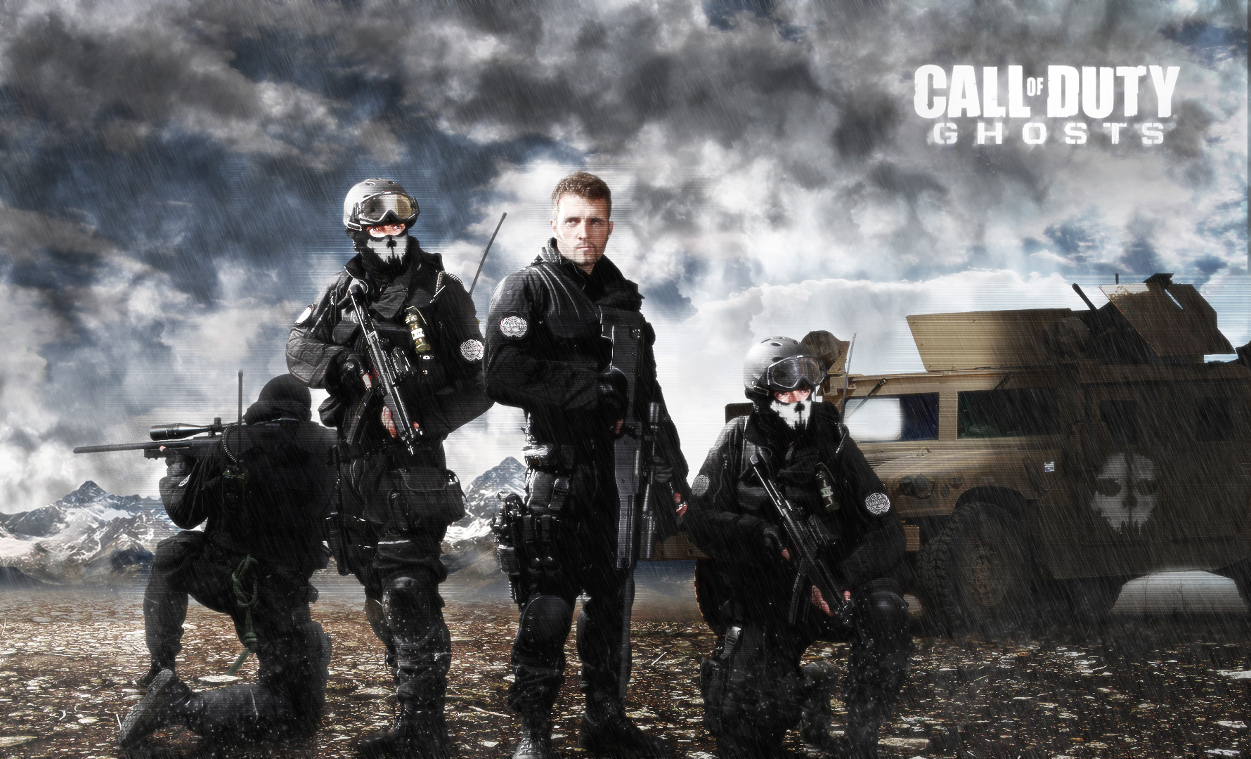 Group Of Call Of Duty Ghost Live Wallpapers