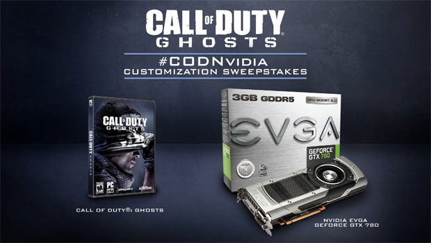 nvidia call of duty content sweepstakes